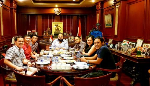 Foto Jejaring Alumni Luar Negeri Diresmikan untuk Kado HUT RI