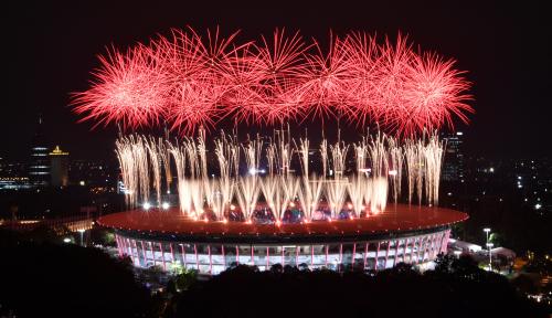 Foto Kesedihan Reynaldi yang Tak Bisa Lihat Pembukaan Asian Games 2018