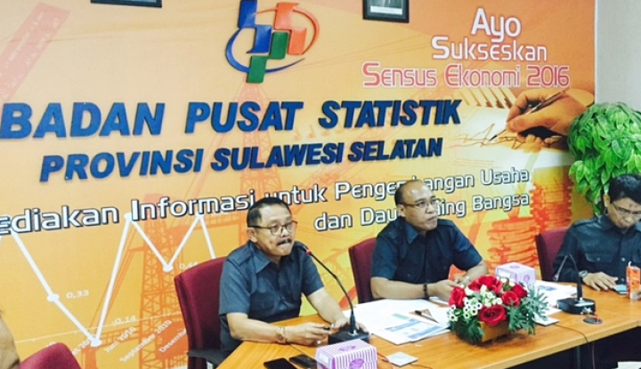 BPS: Nilai Tukar Petani Sulsel Merosot 0,96% - Warta Ekonomi