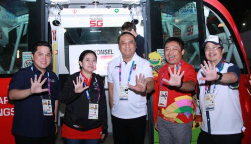 Foto Menteri Puan: Terima Kasih Atlet Indonesia