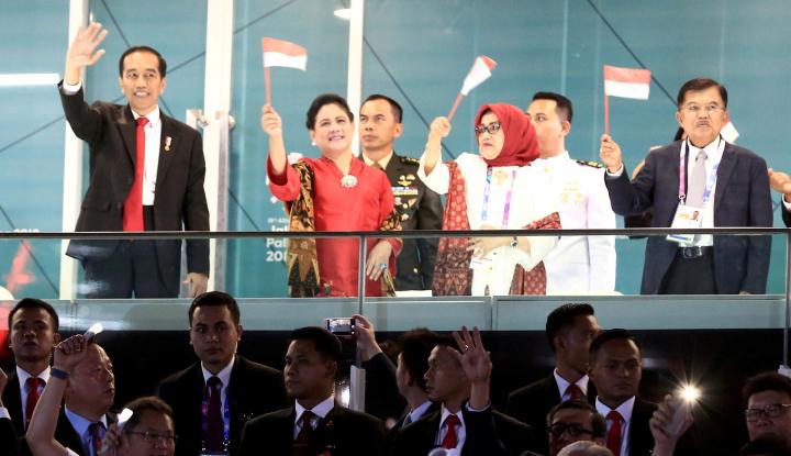 Foto Berita Pujian JK untuk Para Atlet Indonesia: Kalian Adalah Pahlawan
