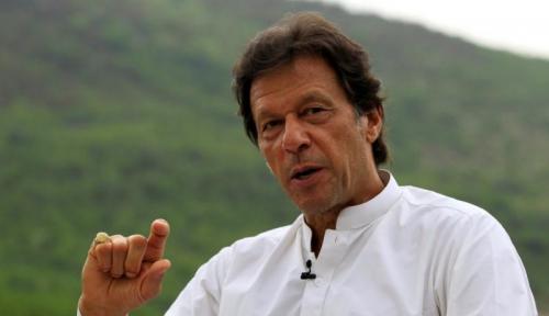 Foto Mantan Bintang Kriket Pakistan Jadi Perdana Menteri