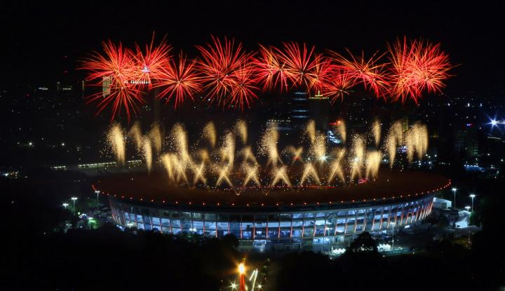 Foto Berita Pembukaan Asian Games, Trafik Data Telkomsel Tembus 720%