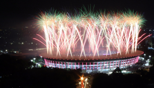 Foto Total Aset Asian Games Rp278 Miliar, Mau Dikemanakan?