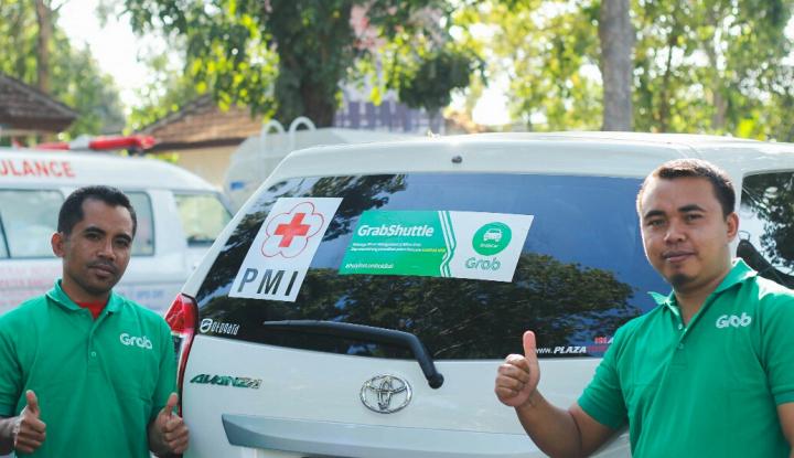 Foto Berita Donasi Gempa Lombok Pengemudi-Pengguna Grab Tembus Rp1 Miliar