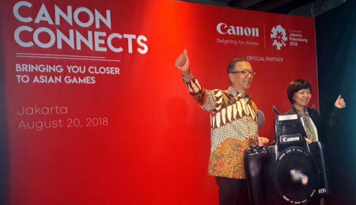 Foto Berita Canon Bidik Penjualan Tumbuh dari Asian Games 2018
