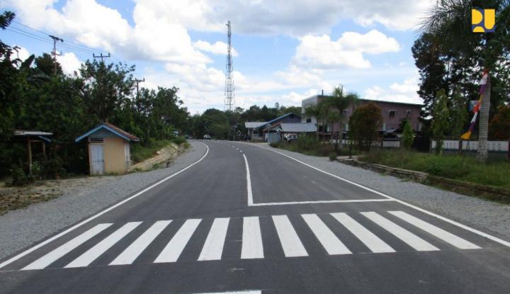 Infrastruktur Perbatasan Entikong Dorong Pengembangan Ekonomi Lokal - Warta Ekonomi