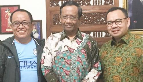 Foto Golkar: Pertemuan Mahfud dan Sudirman Hanya Silaturahmi, Benarkah?