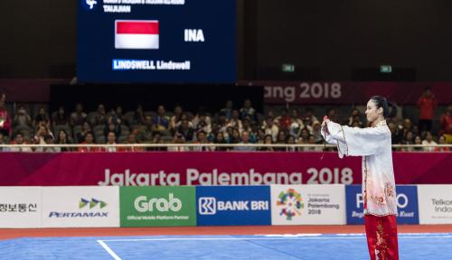 Foto Atlet Wushu Indonesia Langsung Pensiun Pasca Raih Emas, Ada Apa ya?