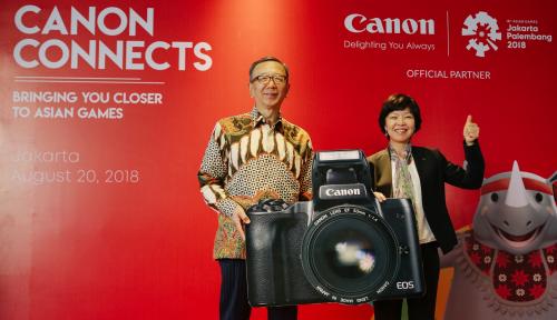 Foto Canon Day Meriahkan Asian Games 2018