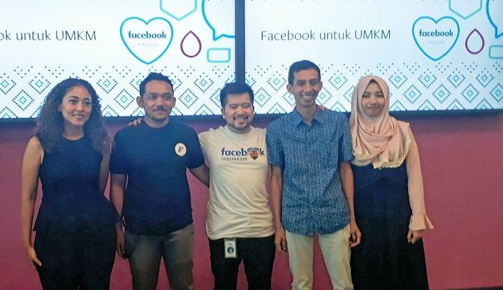 Facebook Naikkan Kelas UMKM di Indonesia - Warta Ekonomi