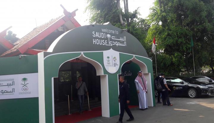 Foto Berita Keragaman Budaya Arab Saudi di Saudi House