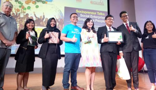 Foto Gandeng Citibank, PJI Asah Kemampuan Bisnis Sosial Pelajar