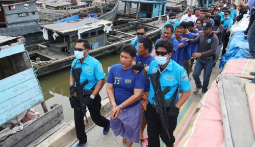 Foto BNN Tangkap Anak Buah Politisi NasDem, Bandar Sabu