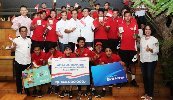 Foto Berita Timnas U-16 Juarai AFF Cup, BRI Berikan Apresiasi Berupa Uang Rp840 Juta