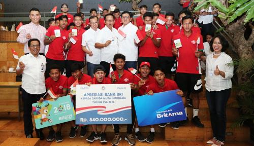 Foto Timnas U-16 Juarai AFF Cup, BRI Berikan Apresiasi Berupa Uang Rp840 Juta