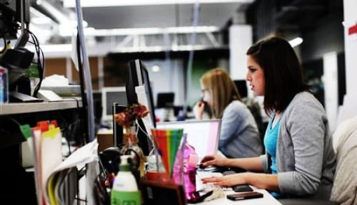 Foto Wanita Jadi Pengusaha di Bidang Teknologi, Kenapa Tidak?