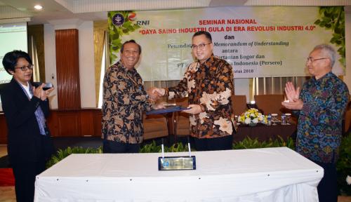 Foto RNI Jalin Kerja Sama Pendidikan dan Penelitian dengan IPB