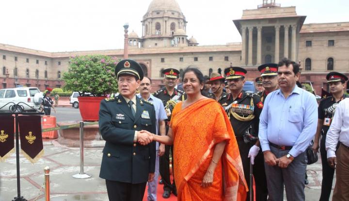 Foto Berita China-India Sepakat Perkuat Hubungan Militer