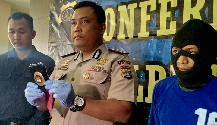 Foto Berita Anggota KPK 'Palsu' Ditangkap Polisi