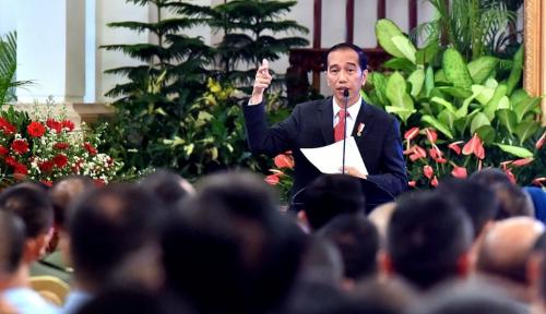 Foto Jokowi Bakal Berikan Dana ke Kelurahan dan Operasional Desa, Tanggapan PKS 'Keren'