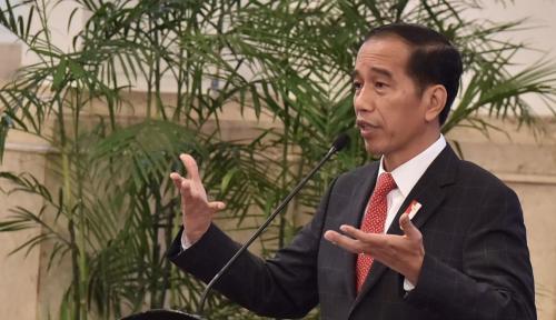 Foto Jokowi Tak Soalkan Deklarasi #2019GantiPresiden, Tapi....