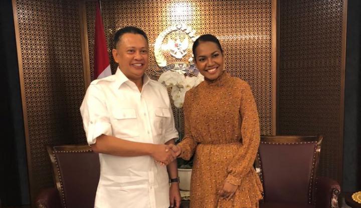 Foto Berita Bamsoet Restui Putri Papua ikut Kontes Kecantikan di India
