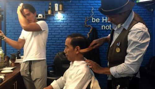 Foto Siapa Bilang Bisnis Barbershop Tidak Untung?
