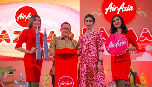 Foto AirAsia Menggandeng BRI dalam AirAsia Bazaar