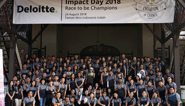 Foto Berita Selamatkan Anak-Anak Lombok dan Papua, Deloit Indonesia Donasi Rp400 Juta