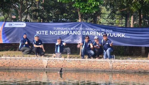 Foto Meriahkan HUT Ke-24, Nasionalre Gelar Turnamen Mancing