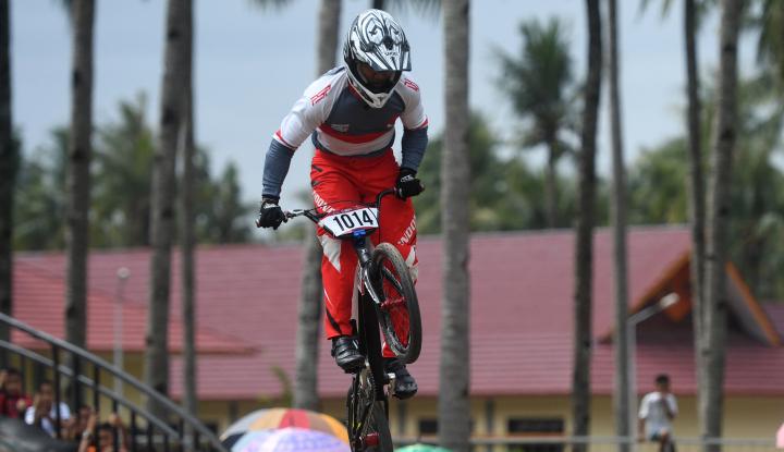 Foto Berita I Gusti Bagus Saputra Raih Perak dari BMX Asian Games 2018