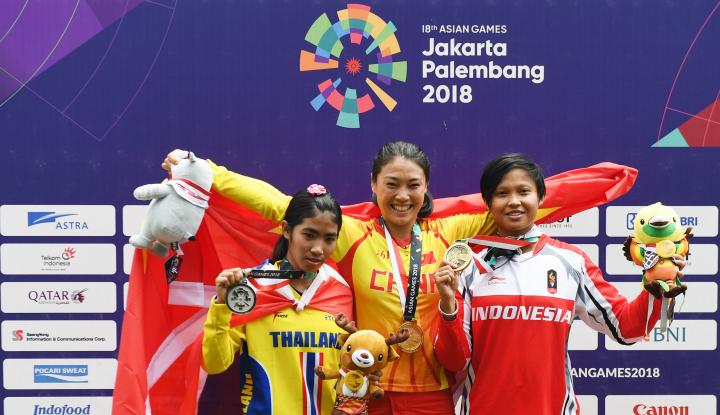 Foto Berita Indonesia Tambah Medali dari BMX Putri