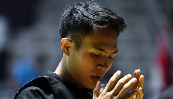 Foto Berita Kalahkan Pesilat Vietnam, Komang Harik Melaju ke Final