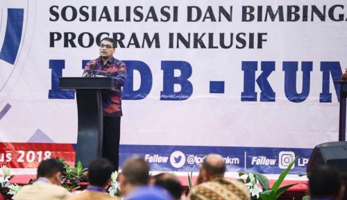 Foto Kuartal III-2018, 50% Dana Bergulir LPDB-KUKM Ditarget Tersalurkan