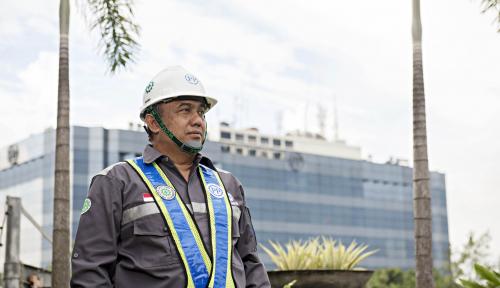 Foto PTPP Buru Proyek Besar Berteknologi Tinggi