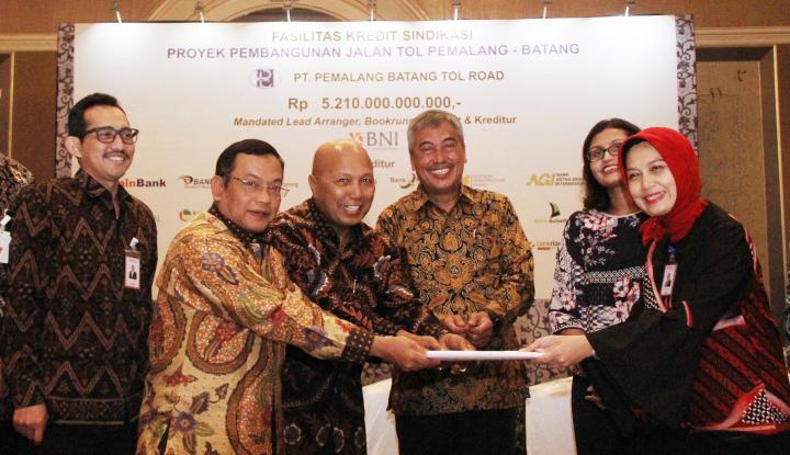 Foto Berita BNI Himpun Rp1,9 Triliun dari Belasan Bank untuk Pembiayaan Sindikasi Jalan Tol Pemalang-Batang