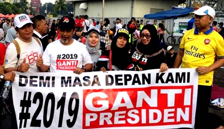Foto Berita Kubu Jokowi Panik dengan #2019GantiPresiden