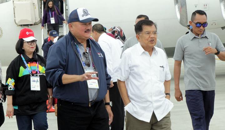 Foto Berita Capaian di Asian Para Games Meleset, JK Minta Maaf ke Jokowi