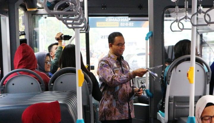 Foto Berita FDTJ Bagikan Peta Transportasi Massal Terintegrasi Sambut Asian Games 2018
