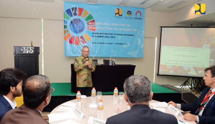 Foto Berita Indonesia Realisasikan Kerja Sama Infrastruktur dengan Afghanistan