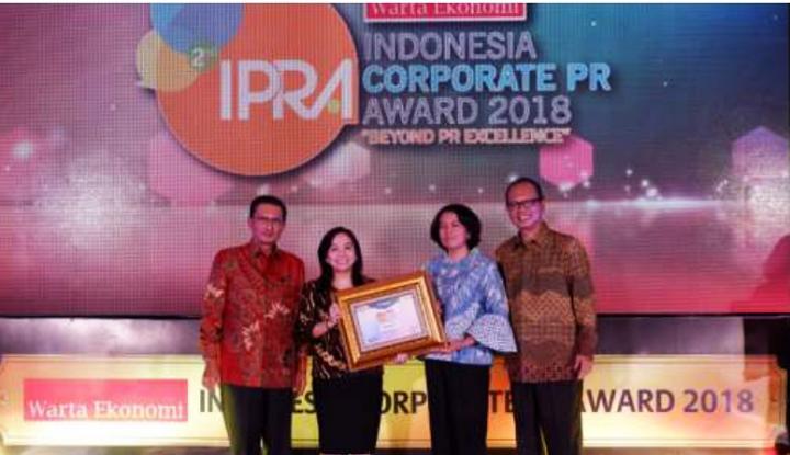Foto Berita Sequis Raih Penghargaan di Ajang IPRA 2018