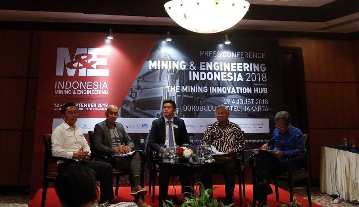 Foto Berita Asosiasi Industri Batubara Gelar Pameran Mining & Engineering Indonesia 2018