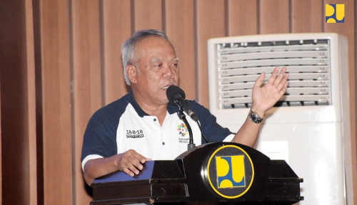 Foto Backlog Rumah Masih 7,6 Juta Unit, Menteri Basuki Akui Kesulitan