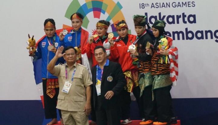Foto Berita Prabowo Target Pencak Silat ke Olimpiade