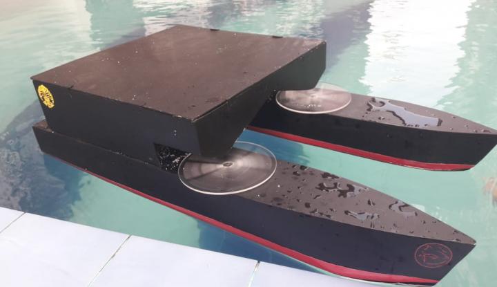 Foto Berita Mahasiswa FTUI Ciptakan Kapal untuk Tingkatkan Hasil Budidaya Ikan Bandeng