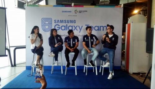Samsung Galaxy Team Ajak Masyarakat Abadikan Momen Spesial Asian Games