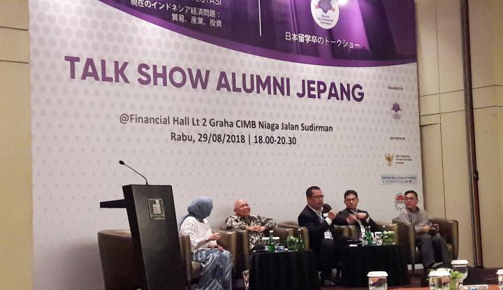Foto Berita Alumni Jepang Dorong Peningkatan Kerja Sama RI-Jepang