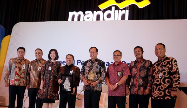 Makin Moncer, Laba Mandiri Meroket 20% di Triwulan III 2018 - Warta Ekonomi