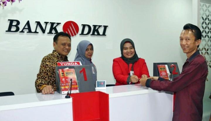 Foto Berita Incar UMKM, Bank DKI Buka 4 Kantor Kas